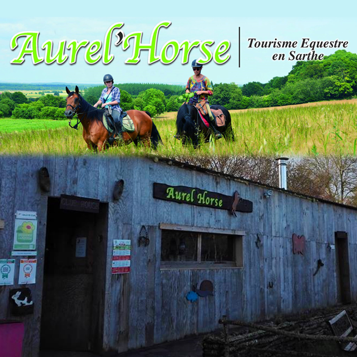 Aurel'Horse, centre de tourisme équestre à Courcemont