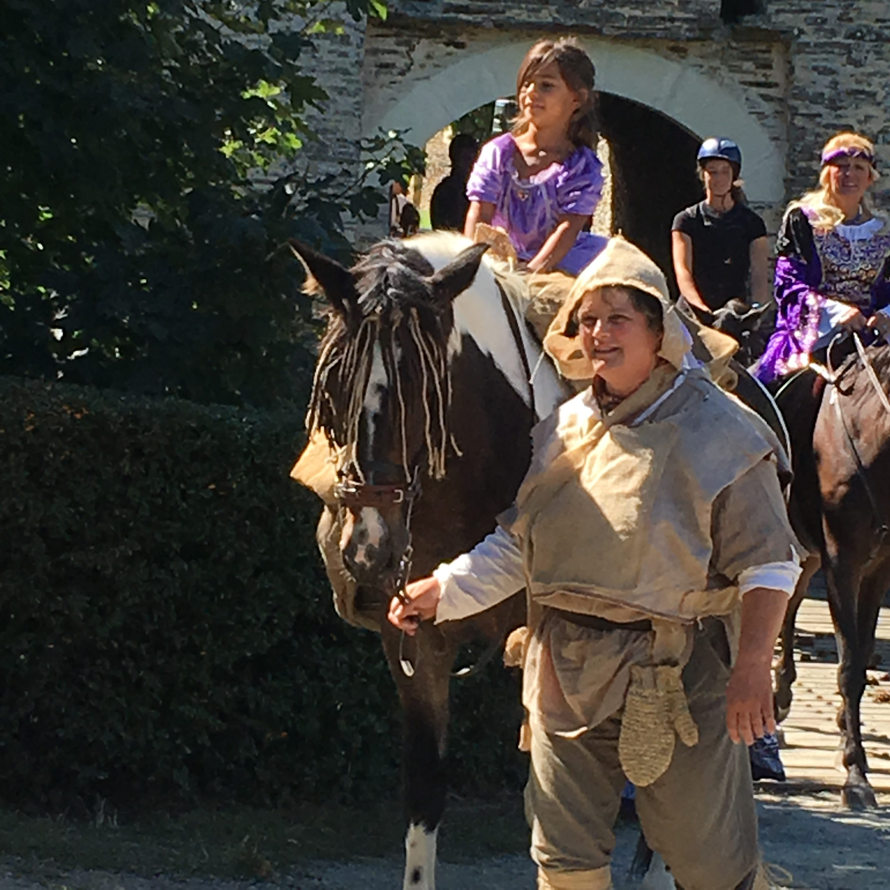Une Chevauchée réussie au milieu des châteaux de l'Anjou