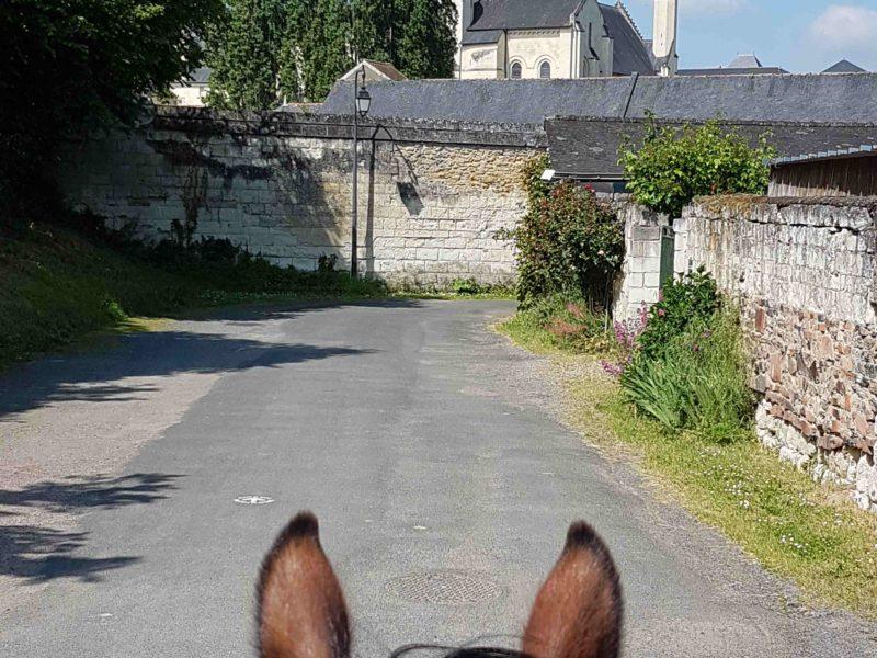L'étape du GRTE 49 entre Châteaux et vignes