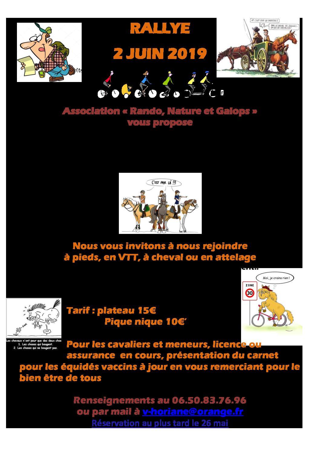 Randonnez en Sarthe le 2 juin