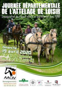 Journée de l'attelage avec nos amis Bretons @ En foret de Rennes